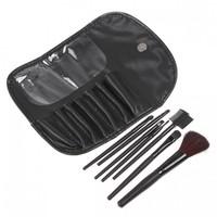 professional 7pcs 7pcs makeup brushes high quality facial cosmetics black colour CZ028
