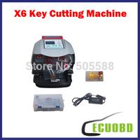 2014 Top-Rated Automatic V8/X6 Key Cutting Machine X6 Car Key Cutting Machine V8 Auto Key Programmer Fast x6 Key Machine by DHL