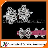 Free Shipping Wholesale Diamante Rhinestone Crystal Crown Brooch, Crown Ribbon Slider, Crown Wedding Invitation Buckle Sliders