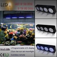 Programmable Timer znet-4 Modular Dimmable 180w led aquarium light For HPS LPS