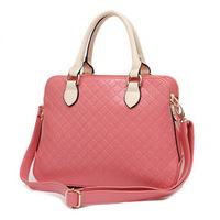 2014 Fashion Women Handbag Fresh Female PU Leather Shoulder Bag Bright Messenger Bag New Style Crossbody Bag Joker Tote Hot Sale