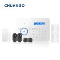 Chuango CG-B11 Dual network PSTN/GSM/SMS burglar Wireless RFID Touch Home Security Alarm System 315mhz