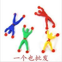 10pcs/lot Climbing Spider-Man / sticky Spiderman / Superman Climbing climbing wall for children kids toys B-69