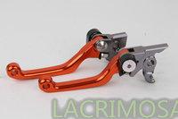 New CNC Pivot Brake Clutch Levers KTM 530EXC/XCR-W/EXC-R Orange 2009 2010