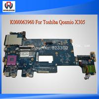 K000063960 Motherboard For Toshiba Qosmio X305 Intel Mainboard LA-4471P