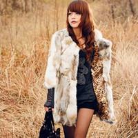 Long Coat Jacket For Women Real Rabbit Fur Coat 100% Genuine Rabbit Fur Coat Winter With Belt Jackets Natural Fur Free Shipping