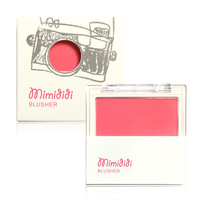 Pure Color Ready Makeup Blush Blusher Palette Free Blusher Brush inside Silky Mineral Texture AL03