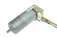 12V DC geared motor with tachometer encoder motor robot smart car accessories