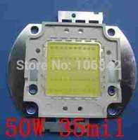 Best Pricw 50W high Power LED 35mil Epistar Chip 10*5 4000-4500lm 30-36V 1500-1750mA 10pcs/lot