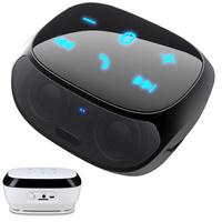 Big promotion wireless Bluetooth travel speaker mini portable sound box with FM radio TF card slot touch key Free Shipping