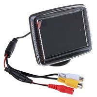 3.5 inch DVR Car Rear View Monitor for Reverse Backup Camera