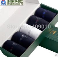 Autumn and winter season men cotton odor-proof sports business in cotton men socks