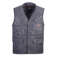 Free shipping Cotton waistcoat elderly father washing of cotton vest men's grandfather fishing vest pocket photography vest coat