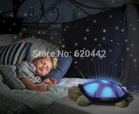 Tortoise Shadow Lamp With Music Sleep Starry Sky Lamp Creative Baby Valentines Gift Dolls Stuffed Plush Toys