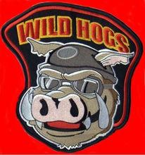10 см x 10 см диких свиней 3 шт./лот на вышитые мото жилет железа на заплате вернуться из куртка аппликация Peppa Pig T019(China (Mainland))