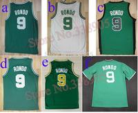 ePacket free&fast shipping Boston  #9 Rajon Rondot retro jersey 6 colors basketball jerseys mesh or rev 30 New Mateial