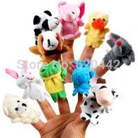 wholesale finger puppets story set toy,20pcs animal puppet,wholesale baby toy finger doll toys,fantoche de mao,fantoches de dedo
