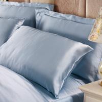 Silk Pillow Case 100% Pure Charmeuse Silk Pillowcase 19mm Queen/King Lilysilk