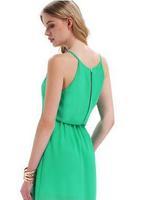 Women summer dress 2014 chiffon sleeveless solid color Spaghetti Strap casual short dress spring autumn fashion mini dress