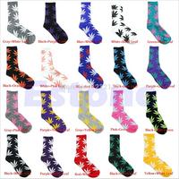 10Pair/Lot 2014 New Men/Women Socks Hot Fashion Unisex Leaf Ankle High Socks Plantlife High Cotton Socks 20 Colors