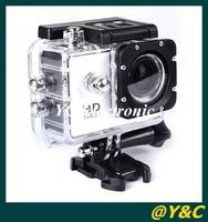 Original! 100% 30M waterproof WiFi Version  WiFi 1080P Full HD GoPro Camera Style Extreme Sport DV Action Camera Diving