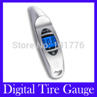 Free Shipping VT-901 voice LCD Digital Tire tyre pressure Gauge , Mini Digital Tire Gauge ,MOQ=1