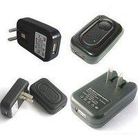 10pcs/lot USB AC Power charger Supply Wall Adapter MP3 Charger plug EU plug / USA plug free shipping