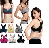 Plus Size Women Elastic Sexy lingerie Seamless Y-Line Padded bra top fashion girls Push Up Bra Underwear for sport Yoga running