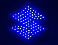 2014 Hot high quality Car styling third brake light  Car Logo LED light effectively prevent rear-end parking Light for Suzuki