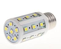 360 degree bright SMD5050 5W/6W/8W/12W/15W/18W/22W/25W LED light E27 Corn Bulb white / Warm White 24/36/44/60/86/102/132/165 LED