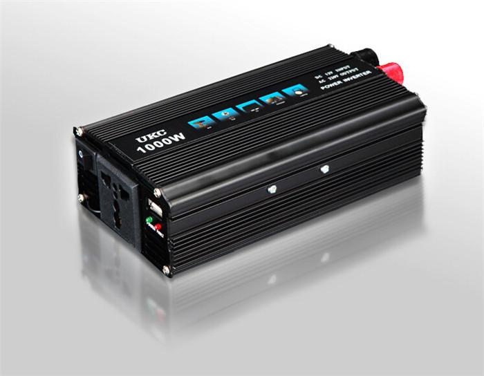 inverter 12v 220v 1000W car power inverter car charger Fix the sine wave inverter(China (Mainland))