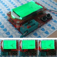 2014 Newest Mega328 Transistor Tester Diode Triode Capacitance ESR Meter detect MOS/PNP/NPN  Digital led