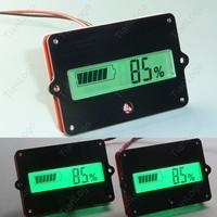 lead LiPo batteries indicator Battery capacity LCD Tester for 12V 24V 36V 48V Lead Acid Lithium LiPo car