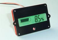 lead LiPo batteries indicator Battery capacity LCD Digital Backlit Tester for 12V-48v 24v 36v Lead Acid Lithium LiPo car
