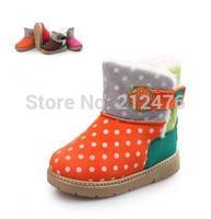 Winter children sonw boots male children girls cotton shoes antiskid warm sonw boots boots baby short boots  children shoes