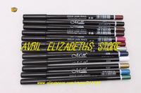 12Bag/Lot M.N 12 Colors Eye Make Up Eyeliner Pencil Waterproof Eyebrow Beauty Pen Eye Liner Lip sticks Eyes Makeup Free Shipping