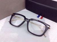 freeshipping Tb701 thom classic round box plain mirror myopia eyeglasses frame sunglasses/shades