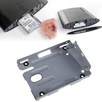 PS3 Super Slim Hard Disk Drive HDD Mounting Bracket Caddy + Screws