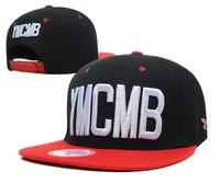 Panel YMCMB Snapback cap men and women bone Hip Hop cap Embroidery letter Baseball Cap adjustable gorros skateboard hat 13styles
