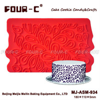Splashing Water silicone mould,border lace,cake decorating silicone fondant molds,cake decoration tools,3Dsilicone mould