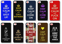 new skin design keep calm case hard back cover for  iphone   6 6s  4.7 inch 10PCS/lot+free shipping