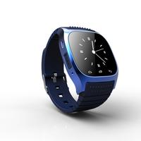 Top Three fashion bluetooth watch with alarm clock&pedometer