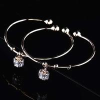2014 Pulseira Masculina Bracelets For Women High-grade Bracelet Simple Fashion Ornaments Refined Copper Jewelry Wholesale New
