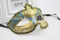 (30pcs/lot) New Style Venetian Masks Masquerade Musician Pattern Masque Mask Festive & Party Supplies Handmade Half-face Mask
