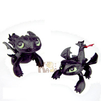 Black Tail+Red Tail HOW TO TRAIN YOUR DRAGON 2 - TOOTHLESS POWER DRAGON DEFENDERS OF BREAK 2pcs Gift