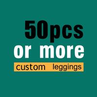 woman leggins 50pcs more heavily customized print woman leggings