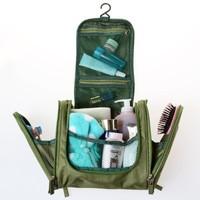 Free shipping BF050 Fashion Travel portable washing bag multifunctional Oxford cloth makeup bag storage bag 24*11.5*21cm
