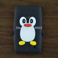 10pcs Lovely Cartoon Penguin Silicone Soft Case Cover For Nokia Lumia 520 525