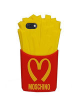 For Iphone 6 4.7'' Case French Fries Silicon Rubber Case