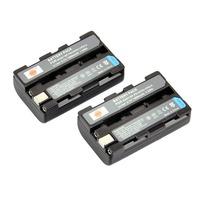 2PCS DSTE NP-FS10 Battery for Sony DSC-F505, DSC-P30, DSC-P50, CCD-CR5, DCR-PC1, DCR-PC2, DCR-PC3, DCR-PC4, DCR-PC5, DCR-TRV1VE